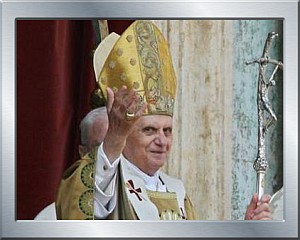 Bild von Papst Benedikt XVI.