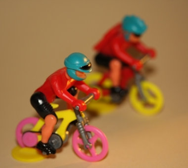 Aggressive Radfahrer ...