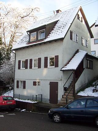 Haus Schnee-Autos