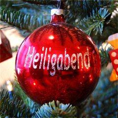 Heiligabend – Weihnachtskugel