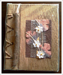 Notizbuch aus Maulbeerbaumrinde