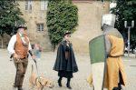 Zeitreisende machen Reklame fürs Landesmuseum