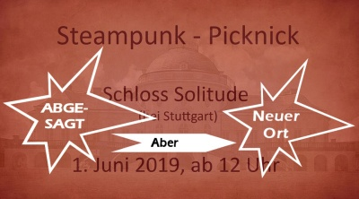 Steampunk-Picknick am 1.6.2019