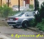 Kurioser Unfall auf der Karlstraße, Böblingen