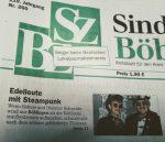 Die SZBZ berichtet über uns– Sindelinger Zeitung/Böblinger Zeitung