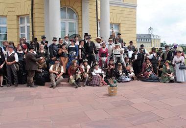 Bericht: 6. Nordbadische Steampunk-Picknick am Schloss Karlsruhe